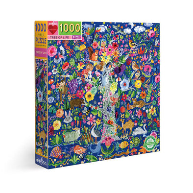 eeBoo Tree of Life 1000 Piece Jigsaw Puzzle