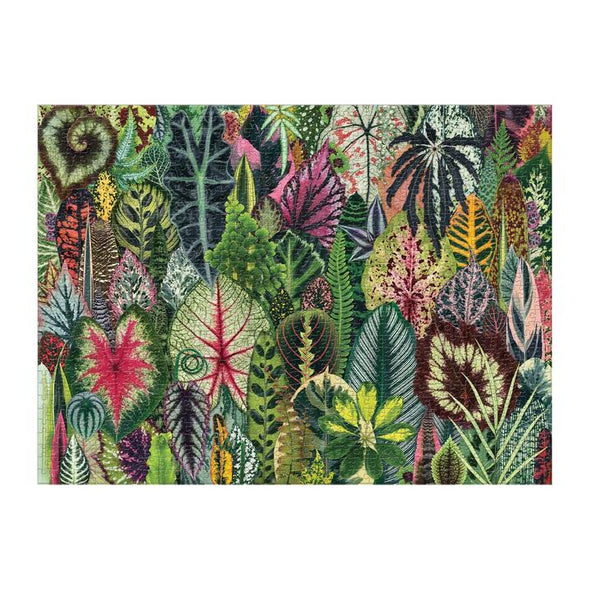 Galison Houseplant Jungle 1000 Piece­ Puzzle