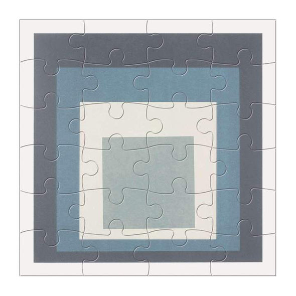 Galison MoMA Josef Albers Wood Jigaw Puzzle Set