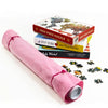 It's a Wrap Puzzle Storage Roll and Mat in Light Pink Felt