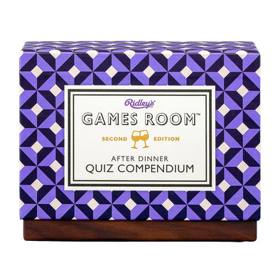 Ridley's After Dinner Quiz Compendium