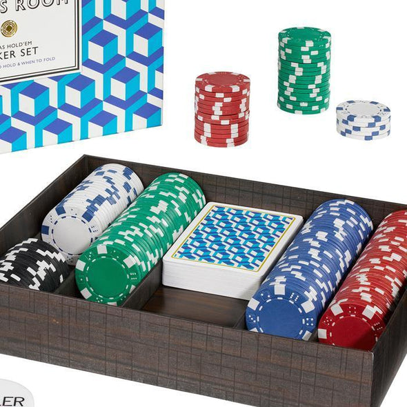 Ridley's Games Texas Hold'Em Poker Set