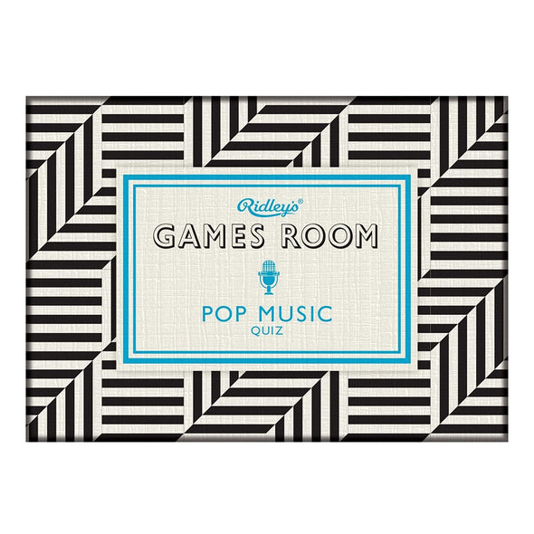 Ridley's Games Room Pop Music Quiz