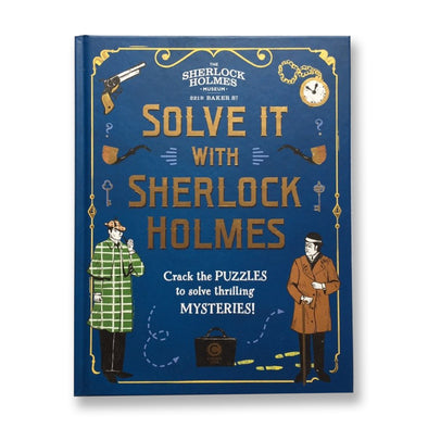 Solve it with sherlock holmes puzzle book