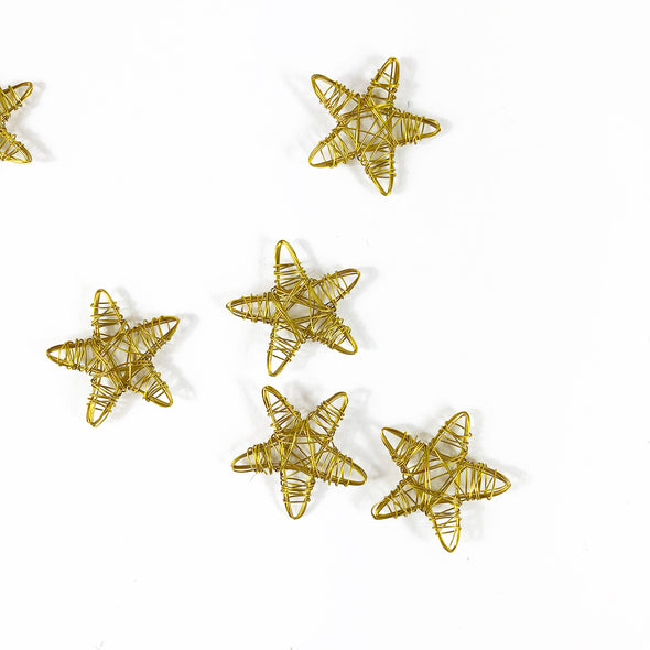 Embellish with Gold Stars! Play timeout Gift Wrapping