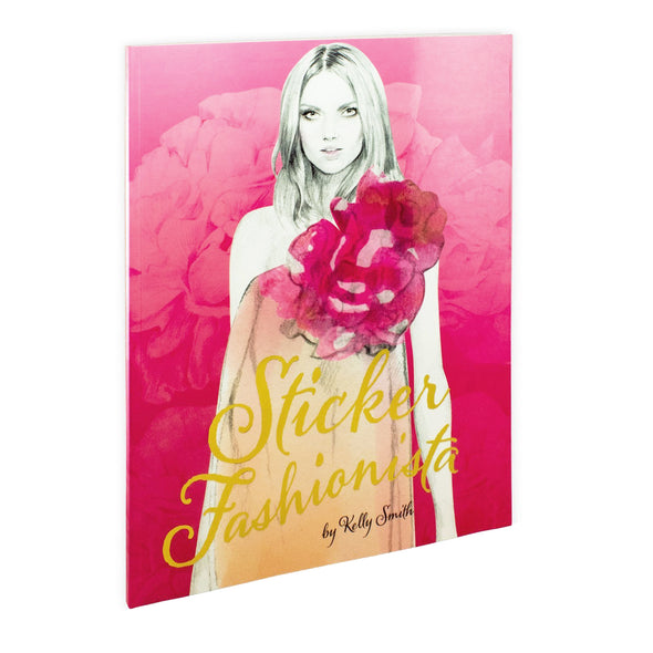 Sticker Fashionista By Kelly Smith