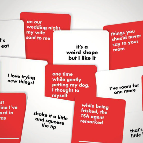 That's What She Said Party Card Game
