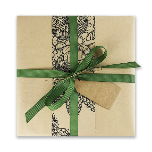 Play. Timeout Complimentary Natural Eco Gift Wrap by Wrap Co