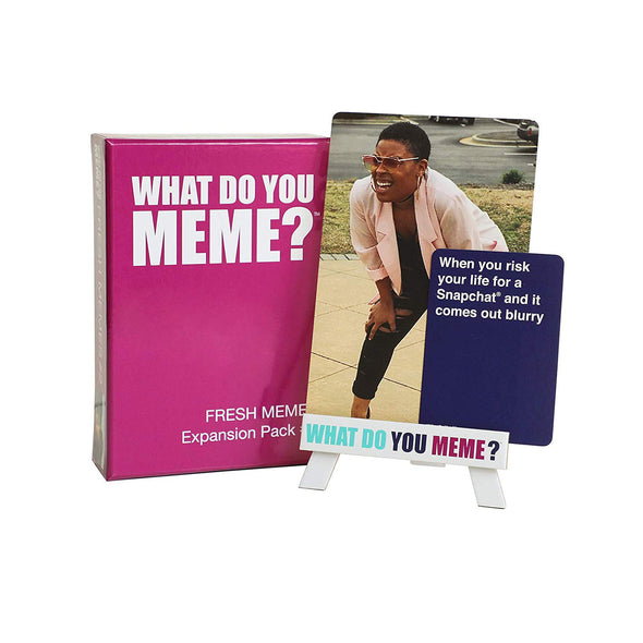 What Do You Meme? Fresh Memes Expansion Pack 2