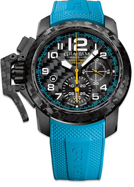 GRAHAM CHRONOFIGHTER SUPERLIGHT 2CCBK.B30A - M&R Jewelers