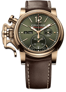 GRAHAM CHRONOFIGHTER VINTAGE BRONZE 2CVAK.G02A - M&R Jewelers