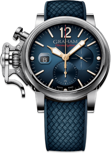 GRAHAM CHRONOFIGHTER GRAND VINTAGE 2CVDS.U09A - M&R Jewelers