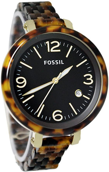 FOSSIL HEATHER THREE HAND RESIN WATCH JR1406 - M&R Jewelers