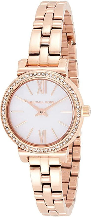 MICHAEL KORS WOMEN'S SOFIE STAINLESS STEEL QUARTZ WATCH MK3834 - M&R Jewelers