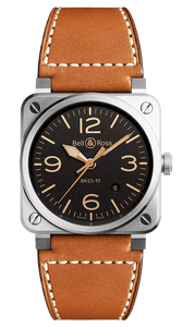 BELL & ROSS BR 03-92 GOLDEN HERITAGE BR0392-ST-G-HE/SCA/2