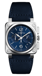 BELL & ROSS BR 03-94 BLUE STEEL - M&R Jewelers