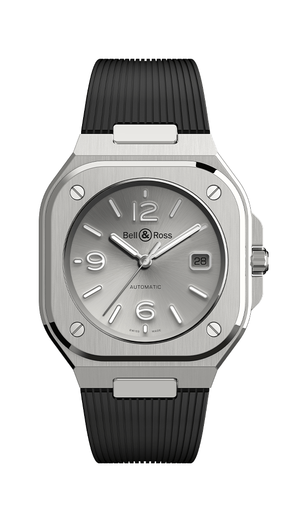 BR 05 GREY STEEL - M&R Jewelers