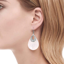 Load image into Gallery viewer, Drop Earring with White Mother of Pearl - M&R Jewelers
