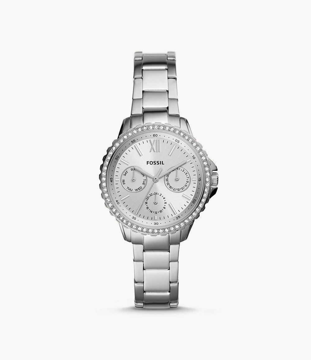 FOSSIL IZZY MULTIFUNCTION STAINLESS STEEL WATCH - M&R Jewelers