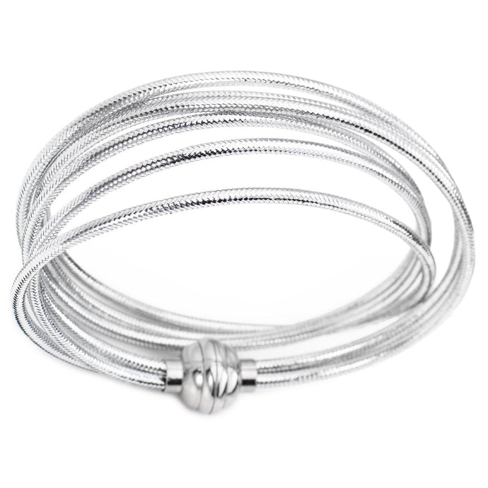 Lurex -Double Wrap Bracelet - M&R Jewelers