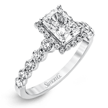 Load image into Gallery viewer, SIMON G 18K GOLD WHITE MR2088 ENGAGEMENT RING - M&R Jewelers