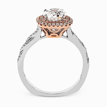 Load image into Gallery viewer, SIMON G 18K GOLD WHITE MR2133-D ENGAGEMENT RING - M&R Jewelers