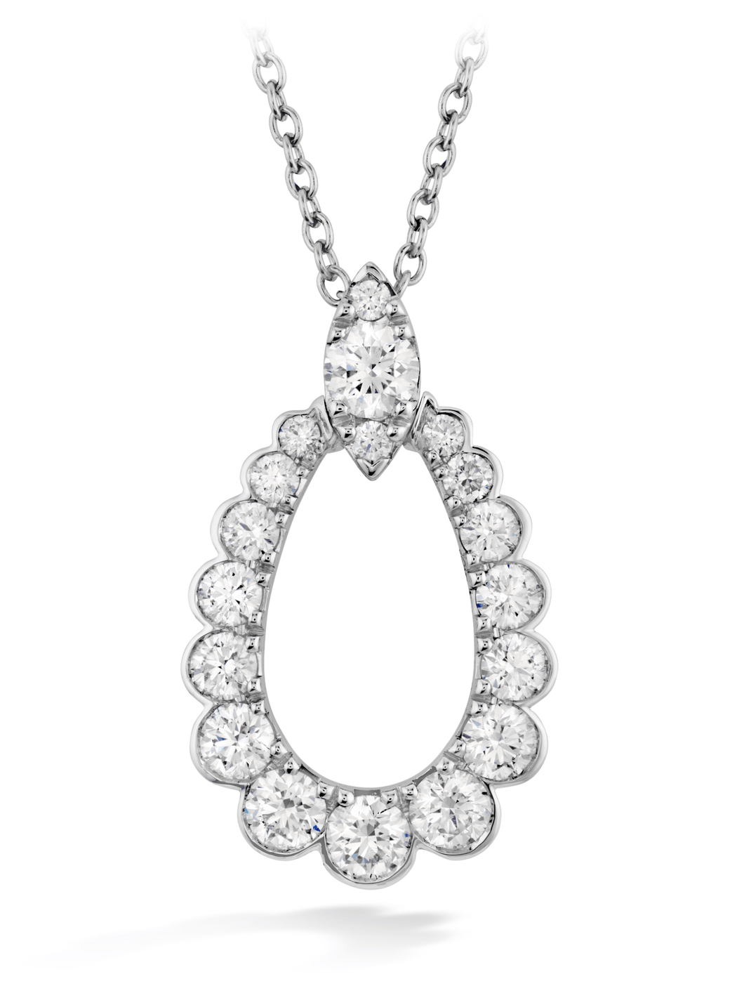 AERIAL REGAL TEARDROP PENDANT - M&R Jewelers