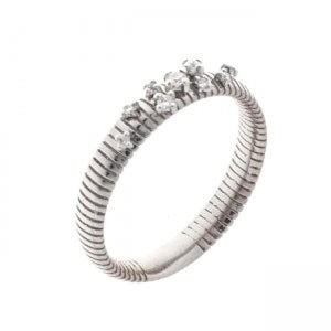 CHIMENTO RING WITH GOLD AND DIAMONDS - M&R Jewelers