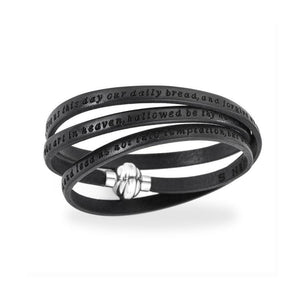 Bracelet Our Father Black - M&R Jewelers