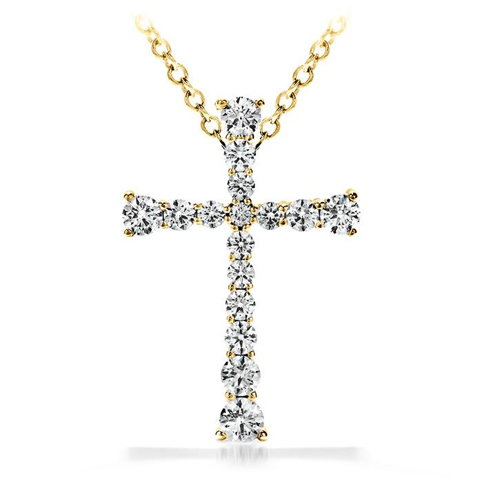 DIVINE JOURNEY CROSS PENDANT NECKLACE - M&R Jewelers