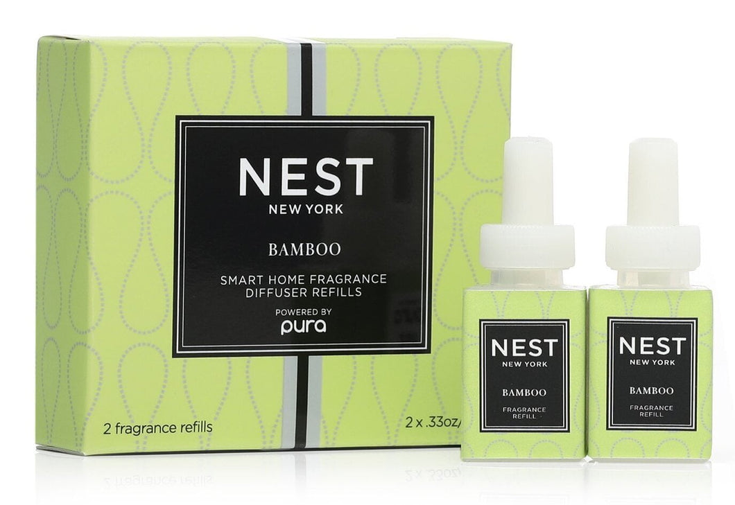 NEST BAMBOO REFILL DUO FOR PURA SMART HOME FRAGRANCE DIFFUSER