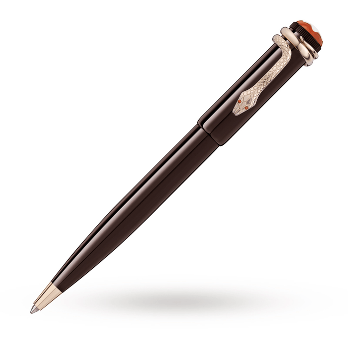 Heritage Rouge and Noir Tropic Brown Ballpoint Pen