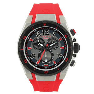 MULCO UNISEX MW1-81197-065 ANALOG DISPLAY SWISS QUARTZ RED WATCH - M&R Jewelers