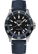 Load image into Gallery viewer, MIDO OCEAN STAR GMT M026.629.17.051.00