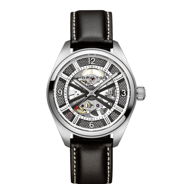 KHAKI FIELD SKELETON AUTO - M&R Jewelers