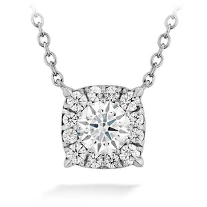 HOF CUSTOM HALO DIAMOND PENDANT - M&R Jewelers