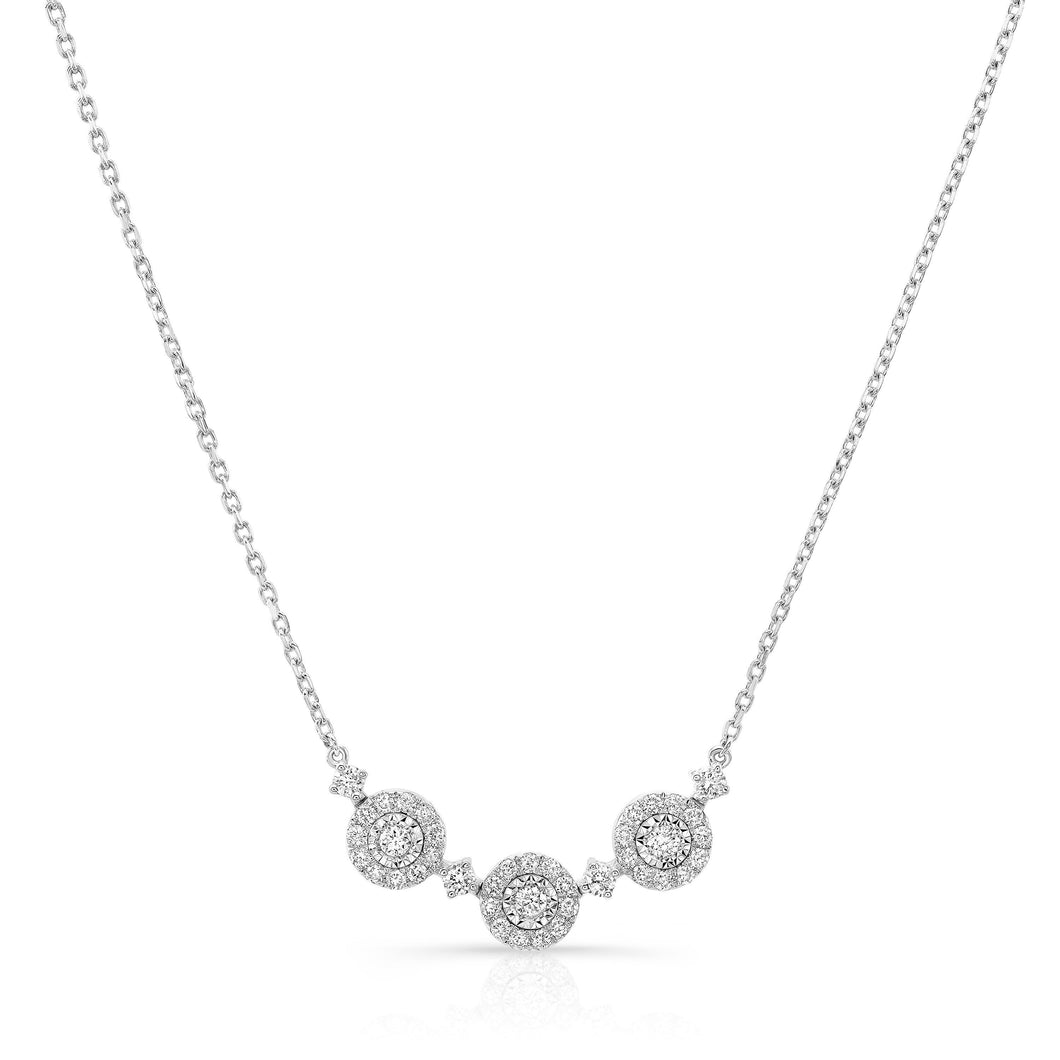 UNEEK DIAMOND NECKLACE, IN 14K WHITE GOLD NK80714WG