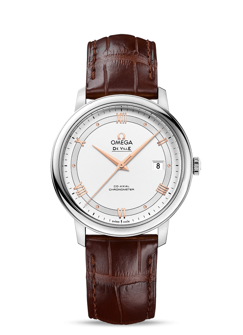 OMEGA DE VILLE PRESTIGE CO‑AXIAL 39.5 MM 424.13.40.20.02.002