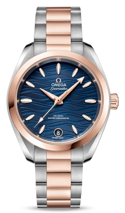 OMEGA AQUA TERRA 150M CO‑AXIAL MASTER CHRONOMETER 34 MM - M&R Jewelers