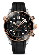 Load image into Gallery viewer, SEAMASTER DIVER 300M CO‑AXIAL MASTER CHRONOMETER CHRONOGRAPH 44 MM 210.22.44.51.01.001