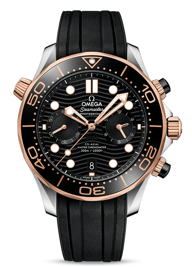SEAMASTER DIVER 300M CO‑AXIAL MASTER CHRONOMETER CHRONOGRAPH 44 MM 210.22.44.51.01.001