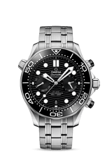 Load image into Gallery viewer, SEAMASTER DIVER 300M OMEGA CO‑AXIAL MASTER CHRONOMETER CHRONOGRAPH 44 MM 210.30.44.51.01.001