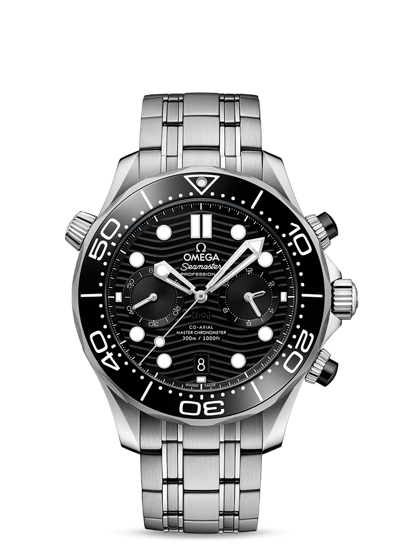 SEAMASTER DIVER 300M OMEGA CO‑AXIAL MASTER CHRONOMETER CHRONOGRAPH 44 MM 210.30.44.51.01.001