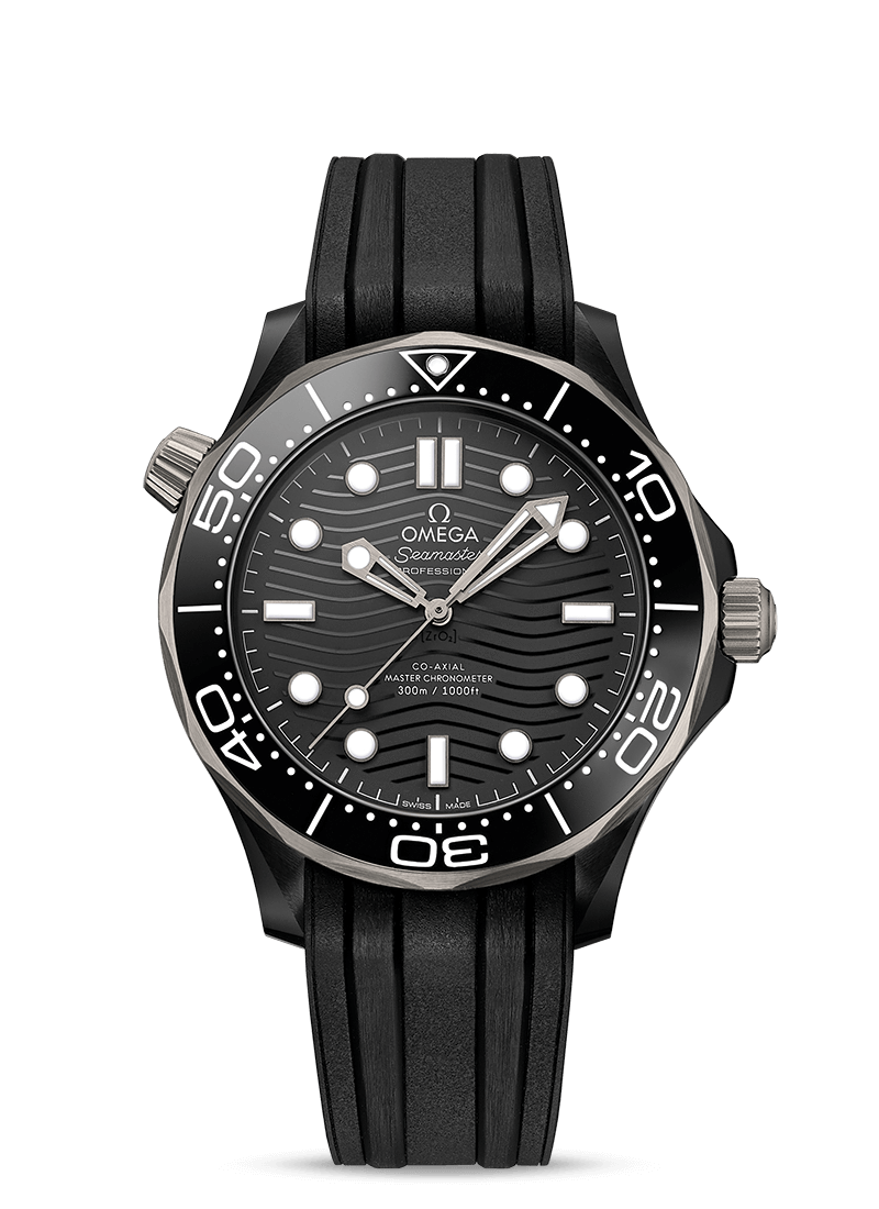 OMEGA DIVER 300M OMEGA CO‑AXIAL MASTER CHRONOMETER 43.5 MM - M&R Jewelers