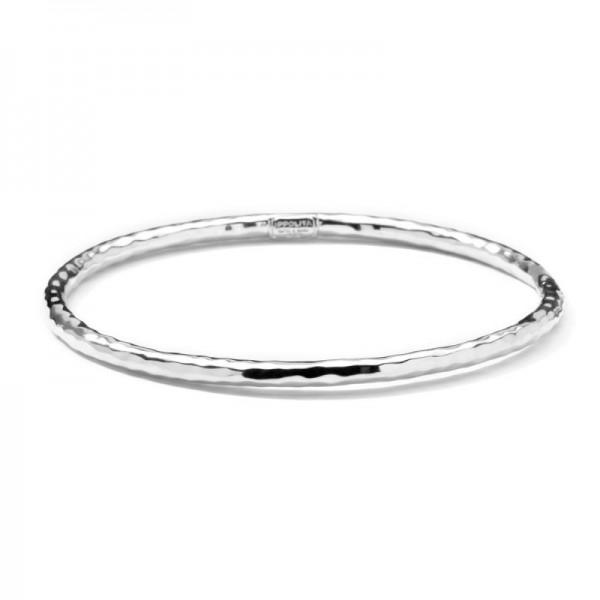 IPPOLITA SILVER HAMMERED BANGLE - M&R Jewelers