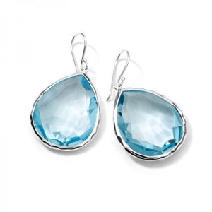 IPPOLITA LARGE TEARDROP EARRINGS IN STERLING SILVER