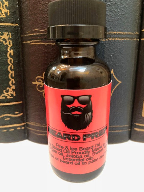 Fire and Ice Beard Oil