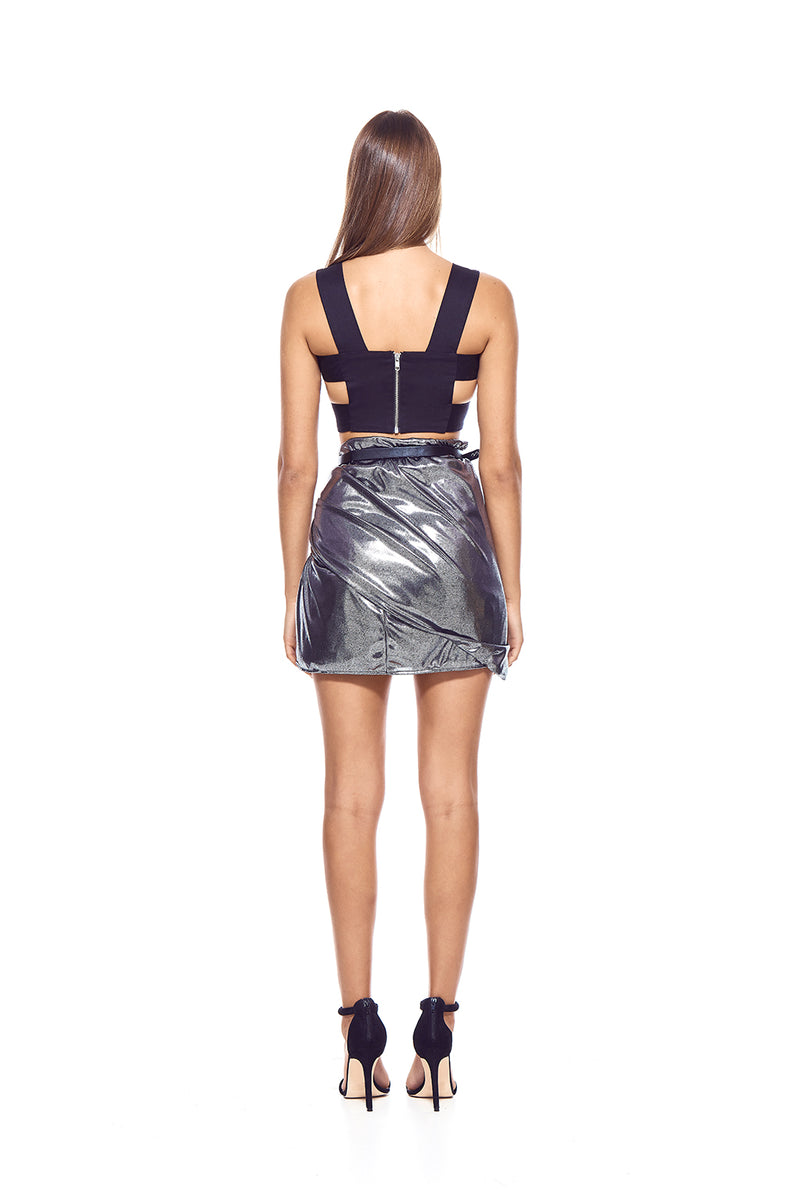 Silver in the Night Skirt