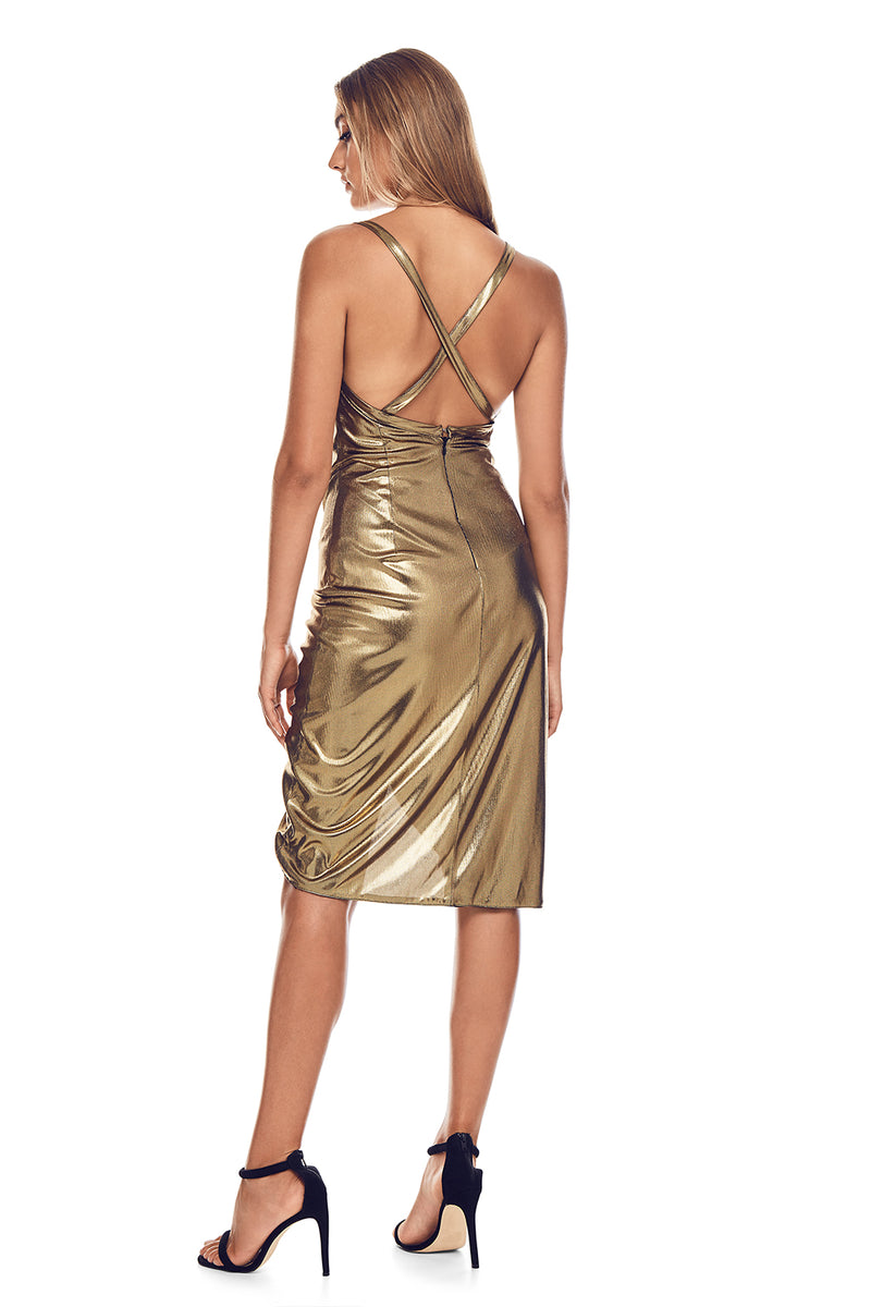 NNCY Golden Beirut Dress