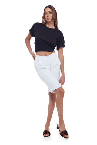 NNCY Logo Band Skirt